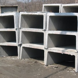 Плиты перекрытия и днища каналов